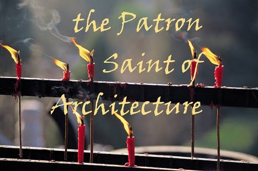 """The Patron Saint of Architecture"" blog image courtesty of Angela Mazzi"