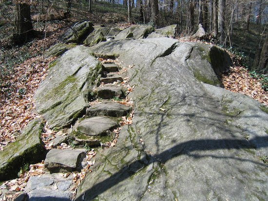 Carved Stone Steps : Wordless wednesday  stepping stone « therapeutic