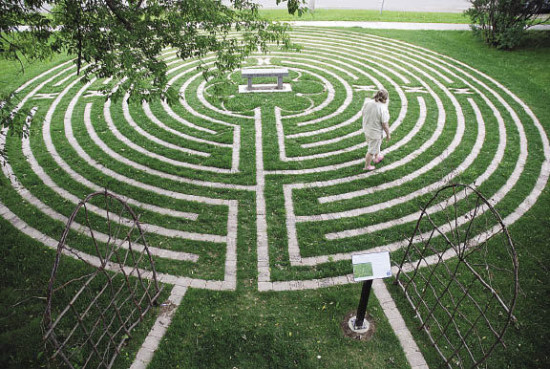 Labyrinth at St. Paul's Anglican Church, Thunder Bay, Ontario, Canada